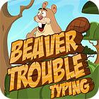 Beaver Trouble Typing 게임