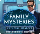 Family Mysteries: Criminal Mindset Collector's Edition 게임