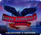 Fatal Evidence: Art of Murder Collector's Edition 게임