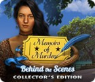 Memoirs of Murder: Behind the Scenes Collector's Edition 게임