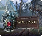Mystery Trackers: Fatal Lesson Collector's Edition 게임