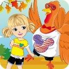 Thanksgiving Turkey Dress-Up 게임