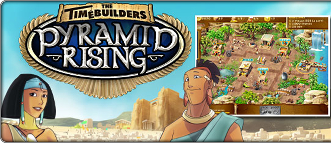 The Timebuilders: Pyramid Rising exclusive game