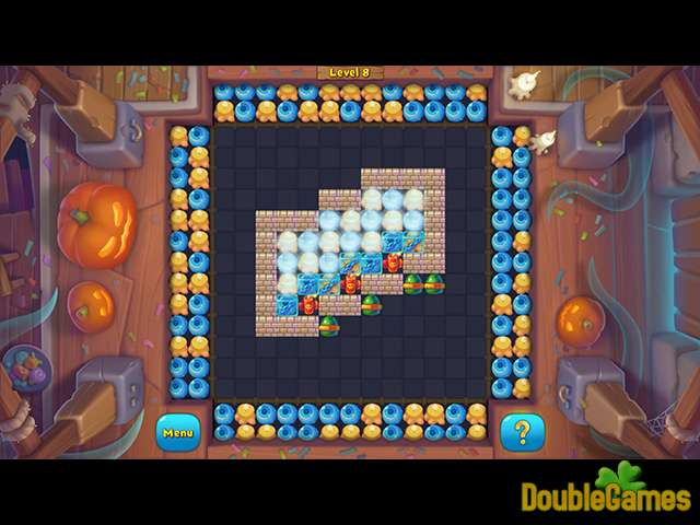 Free Download Halloween Marbles Screenshot 1